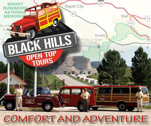Black Hills Open-Top-Tours: Convertible Top Tours - Experience comfort and adventure and see the Black Hills in a unique and fun way!