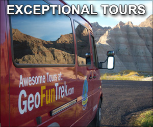 GeoFun Trek Tours - Our day-long trips to the Badlands combine sightseeing with geology, paleontology, folklore and poetry into a day filled with inspiration, information and memories.
