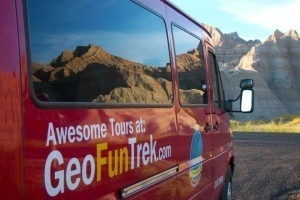 GeoFunTrek Tours : Our day-long trips to the Badlands combine sightseeing with geology, paleontology, folklore and poetry into a day filled with inspiration, information and memories.