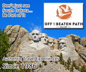 Off the Beaten Path : Explore Mount Rushmore, Crazy Horse Monument, the Black Hills, Custer State Park, the Badlands and all the most interesting attractions in this part of South Dakota.