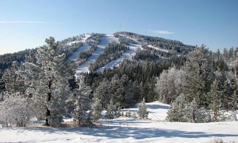 Skiing Black Hills