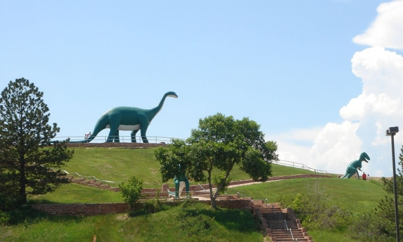 rapid city dinosaur park
