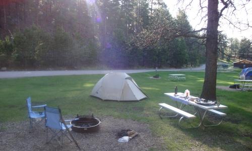 Black Hills South Dakota Campgrounds Alltrips