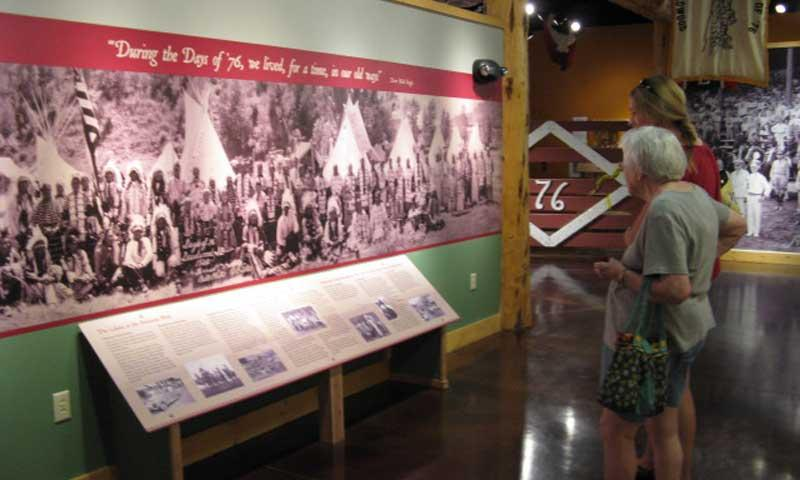 Display at Display at Days of 76 Museum