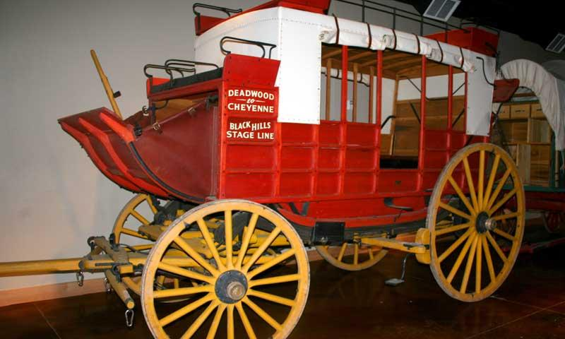 Carriage at Days of 76 Museum