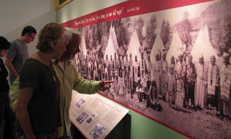 Display at Days of 76 Museum