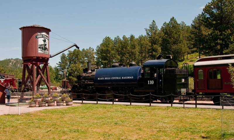 1880 Historic Train in the Black Hills