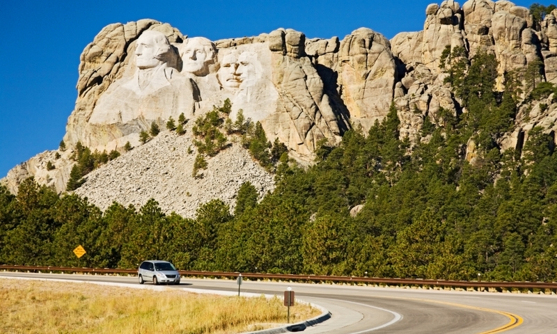 Road to Mount Rushmore