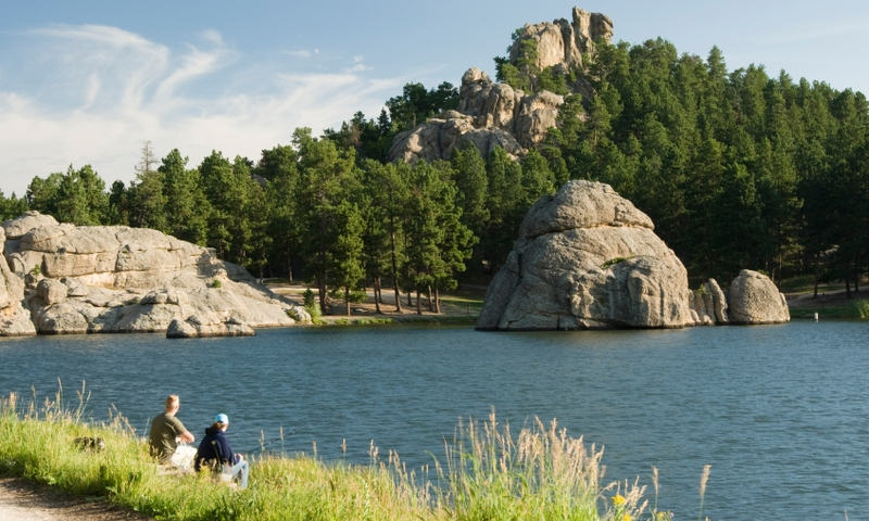 Black Hills South Dakota Sylvan Lake