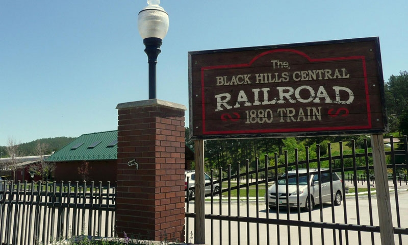 Railroad Museum in Hill City