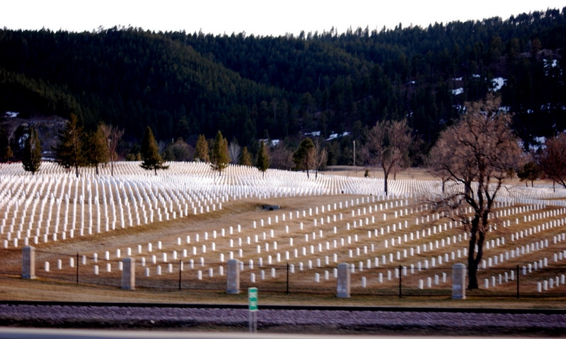Black Hills National Cemetery in South Dakota