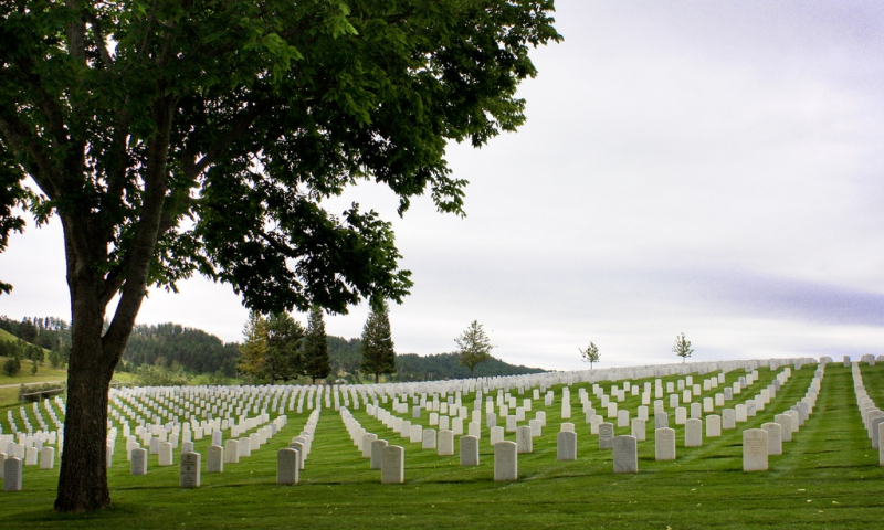 Black Hills National Cemetery in South Dakota