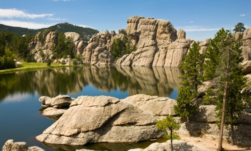 Custer State Park Sylvan Lake