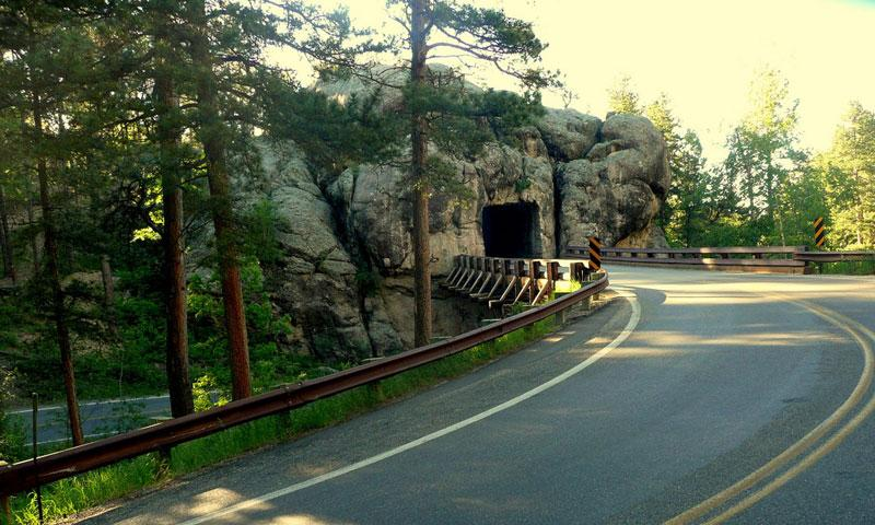 Iron Mountain Road in the Black Hills