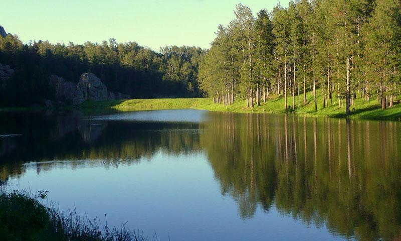 Lakota Lake Iron Mountain Road