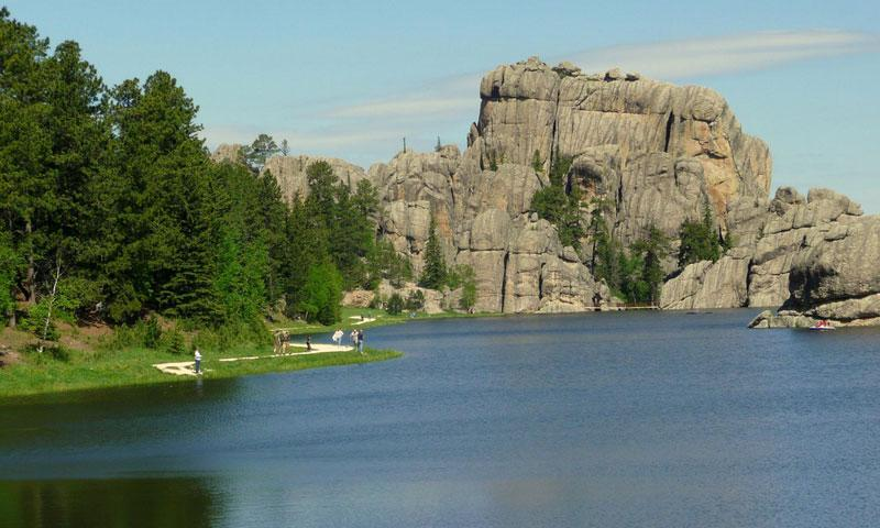 Sylvan Lake South Dakota Alltrips