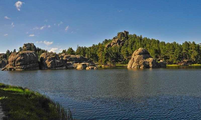 Sylvan Lake in the Black Hills