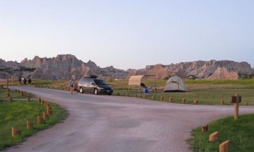 Badlands Camping