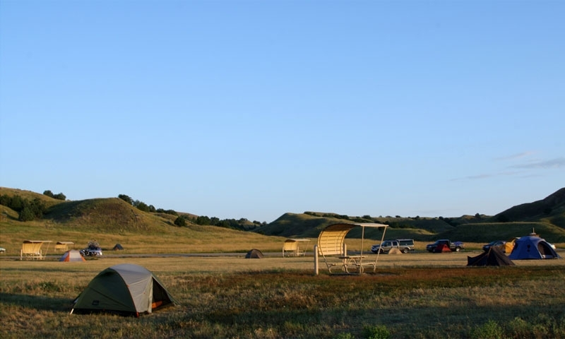 Badlands Camping National Park Campgrounds Alltrips