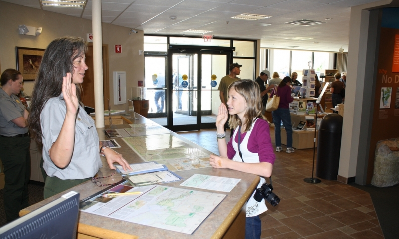 Junior Ranger Program in Badlands National Park