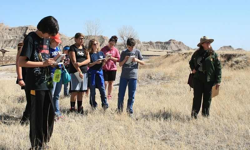 Ranger Talk in the Badlands