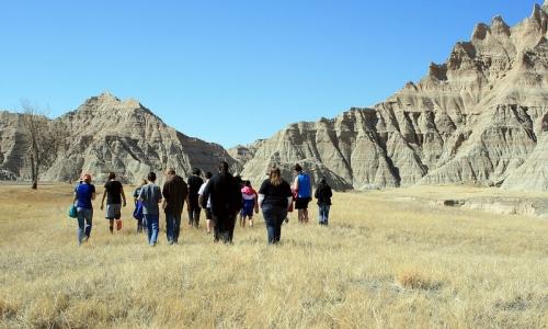 Ranger Led Hike in the Badlands
