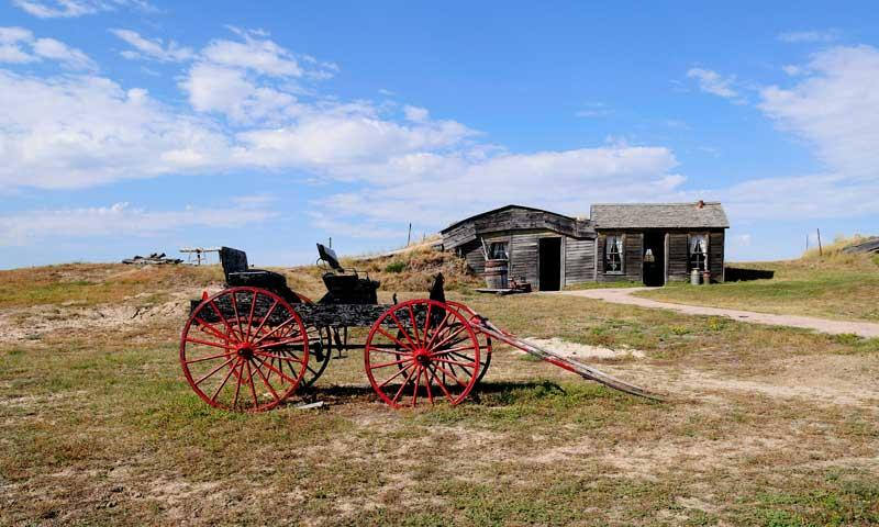Prairie Homestead in Badlands National Park