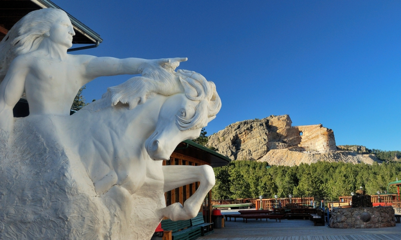 Crazy Horse Monument South Dakota Memorial Alltrips