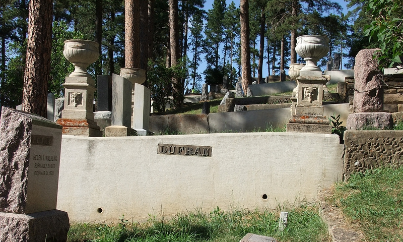 Mount Moriah Cemetery in Deadwood