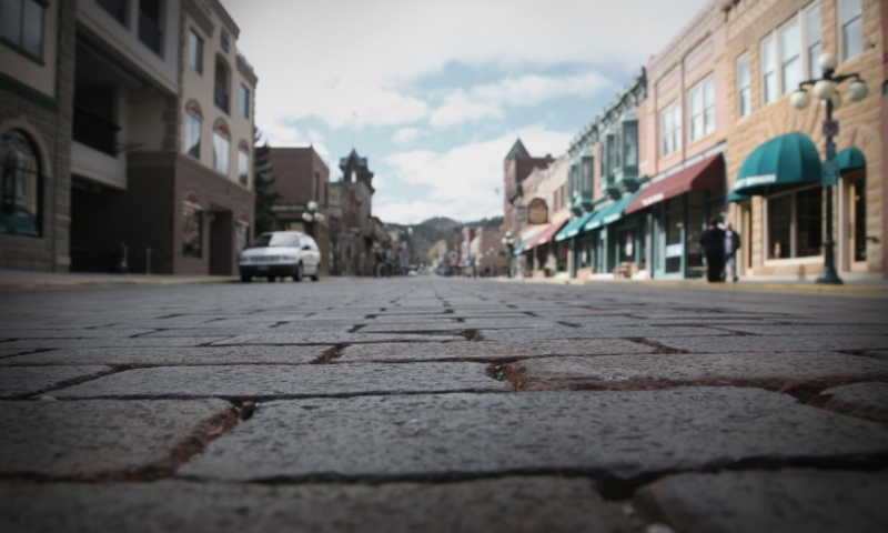 Deadwood South Dakota Downtown