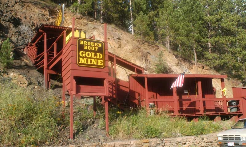 Broken Boot Gold Mine in the Black Hills