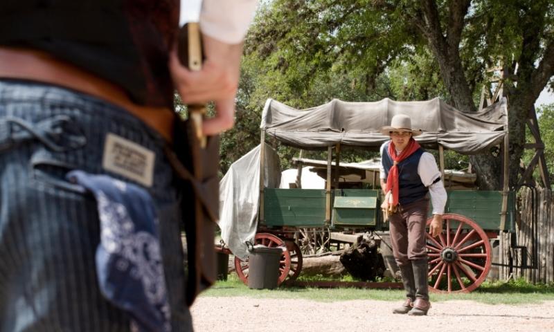 Deadwood Wild Bill Gun Fight