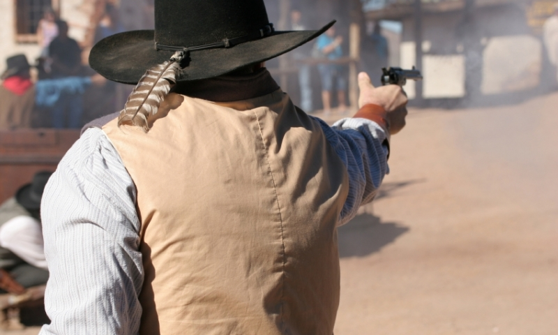 Deadwood Wild Bill Reenactment