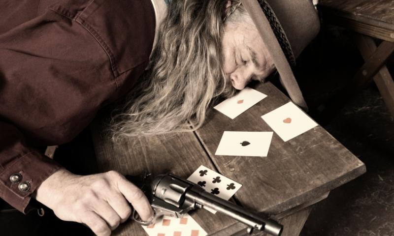 Wild West Gambling Gun Reinactment