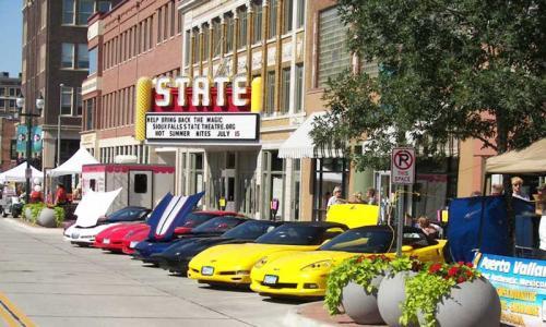 Corvettes in the Black Hills