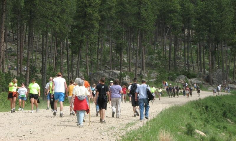 Crazy Horse Monument Volksmarch