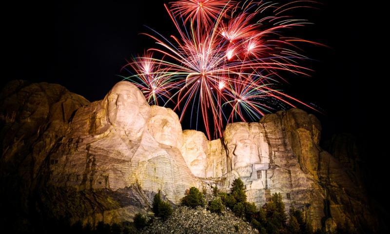 Mount Rushmore Fireworks - AllTrips