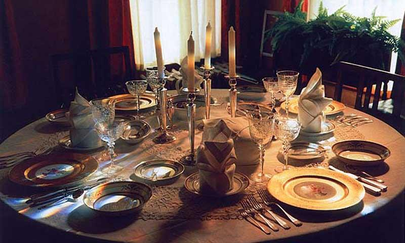 Adams House Dining Room in Deadwood South Daktoa