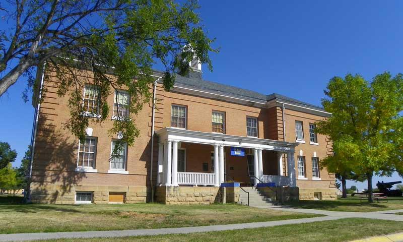 Fort Meade Museum in Sturgis South Dakota