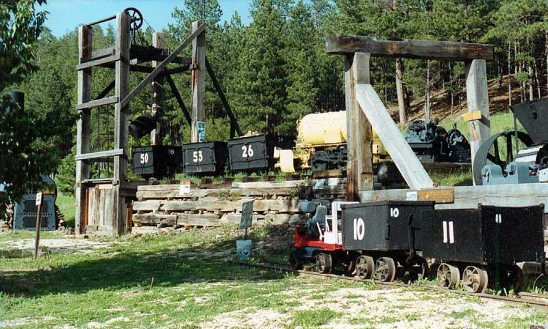 Wade's Gold Mill in Hill City South Dakota