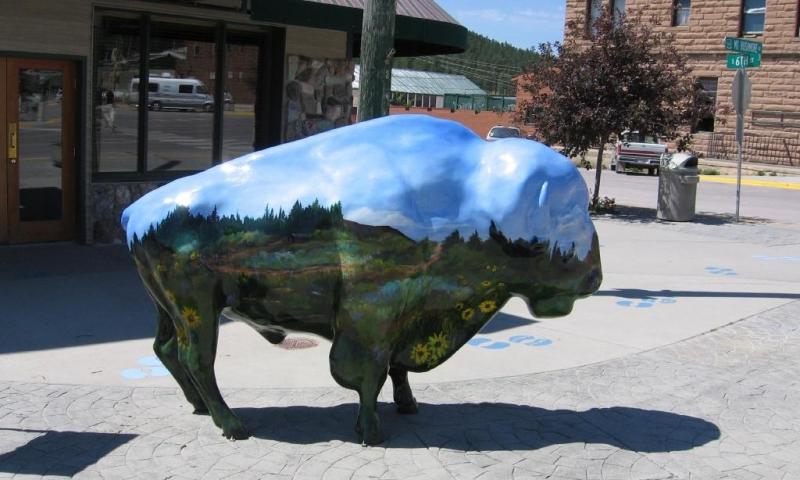 Town of Custer South Dakota