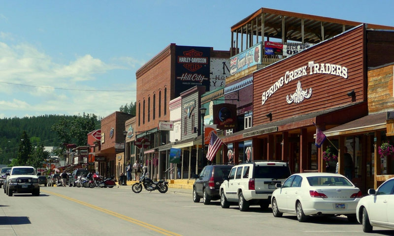 Image result for hill city sd downtown