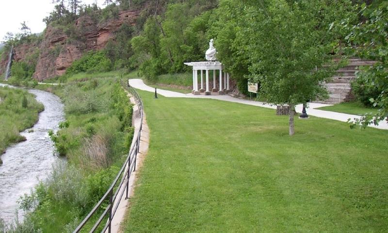 Hot springs south dakota sd alltrips riverside park in hot springs south dakota sciox Image collections