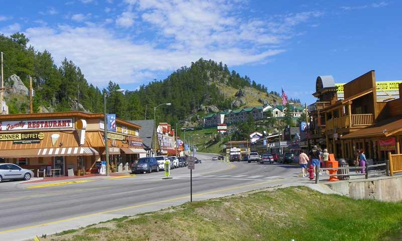 Downtown Keystone South Dakota