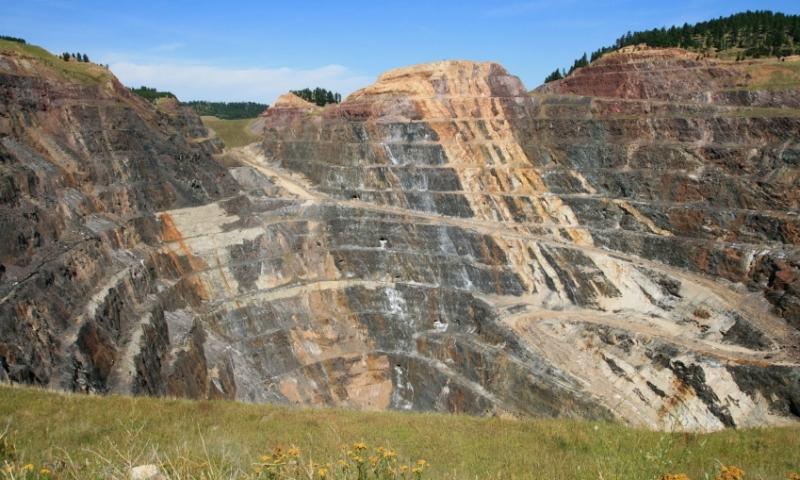 Homestake Mine in Lead