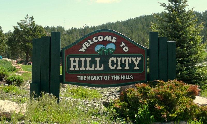 Hill City South Dakota Black Hills