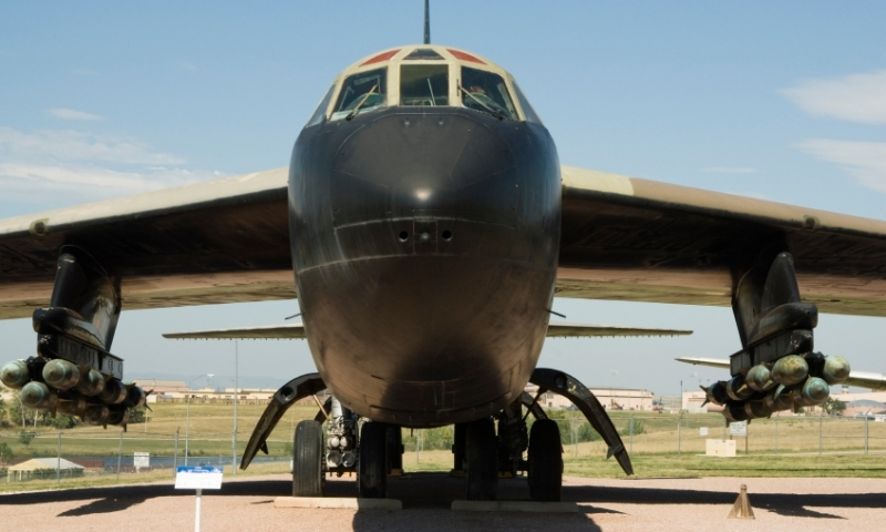 Boeing B-52D Bomber at the South Dakota Air and Space Museum