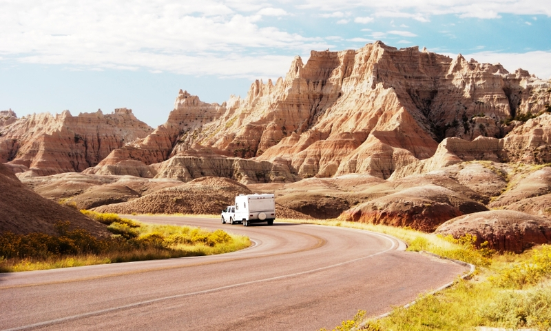 Badlands National Park South Dakota Rv Scenic Drive