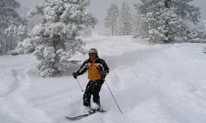 Terry Peak skiing on Little Hope