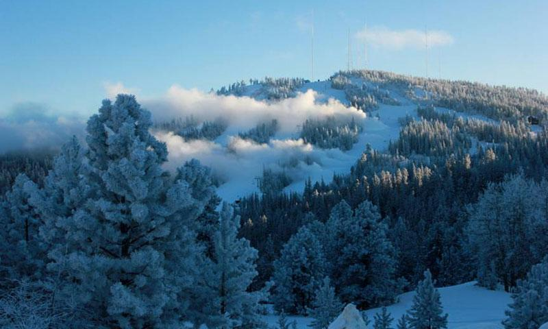 Snow Being made at Terry Peak Ski Area